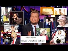 James Corden Breaks Down April 2017 The Late Late Show, North Korea, Author, Marketing, Movie Posters, Film Poster, Writers, Billboard, Film Posters
