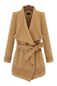 Winter Camel Trench