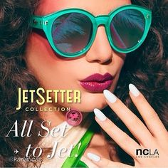 Love this new @NCLA #Jetsetter campaign shot by @Karla Ticas w/ #nails by @karengnails! ✈️ model: @Mikayla Mifsud makeup: @leibi_carias hair: @noogiethai nails: #karengnails styling @izliv #beauty #ncla #shootinghollywood #nailinghollywood