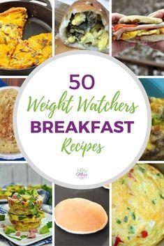 50+ Weight Watchers Breakfast Recipes and Ideas #weightwatchers #freestyle