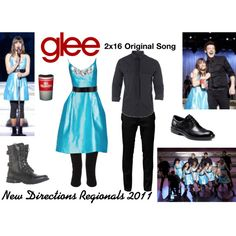 """New Directions (Glee) : Regionals 2011"" by aure26 on Polyvore"