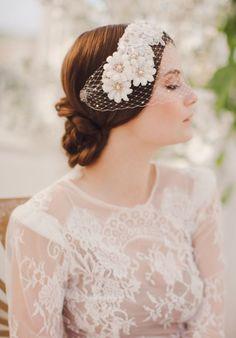 THE NORWEGIAN WEDDING BLOG | Inspirasjon Brud og Bryllup | Ultimate Bridal Inspirations: Jannie Baltzer 2014 Collection - Part Two - Hårpynt...