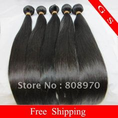 Aliexpress.com : Buy GS Hair 3pcs lot Brazilian Virgin Hair Extension straight natural hair weaves Mixed length available from virgin GS hair #gshair #hairweave #hair #wig #beauty #gs #aliexpress #hairstyle #aliexpresshair #virginhair #remyhair #humanhair #hairextension #brazilianhair #aliexpressbrazlianhair #straight