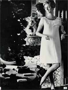 Vogue Italia, February 1967  Photo by Henry Clarke  - Courreges