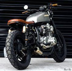 Honda Brat Style #motorcycles #honda #motos | caferacerpasion.com