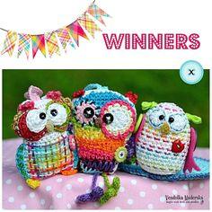 Owls giveaway - winners