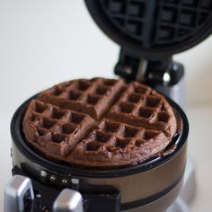 Wow! I really need to get a waffel iron! Cake Mix Waffles