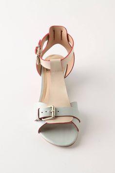 Blush Sandals - anthropologie.com