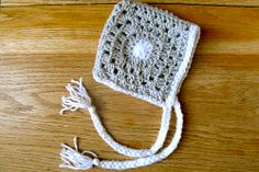 Ravelry: LBK63's Polka Dot Granny Square Baby Blanket Bonnet