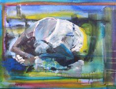 Colors 60x60 acryl Hennesien van Walderveen