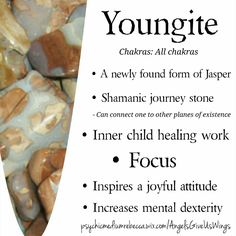 Youngite crystal meaning, so beautiful with so many benefits!