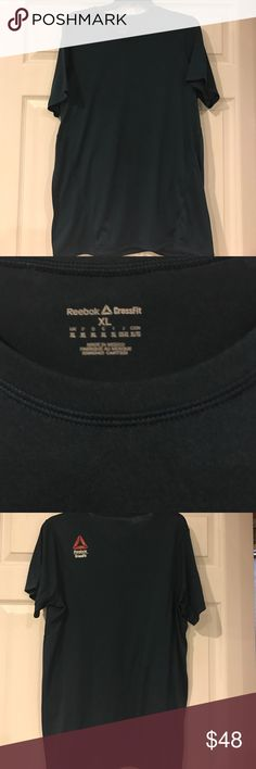 Reebok CrossFit Top Excellent Condition Men's Reebok CrossFit Tee! Moisture wicking fabric, awesome dark teal color! Reebok Shirts Tees - Short Sleeve