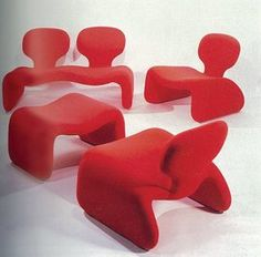 Djinn chairs. A classic icon from 2001: a space odyssey