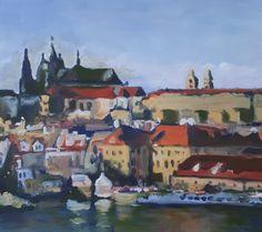PRAŽSKÝ HRAD Výtvarné kurzy VytFit- Zážitkové, tvorivo- experimentálne kurzy kreslenia, malovania a výtvarných techník.Príprava na prijímacie skúšky SŠ, VŠ- design, architektúra, animovaná tvorba Bratislava, Painting, Art, Art Background, Painting Art, Kunst, Paintings, Performing Arts, Painted Canvas