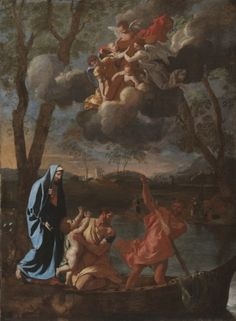 Nicolas Poussin - The Return of the Holy Family to Nazareth (1627); Cleveland Museum of Art