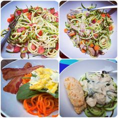 I'm A Celiac: It's Zoodles Time - a Basic How to Guide #glutenfree #spiralizer