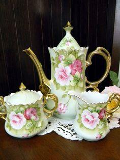 Lefton Heritage Tea Set