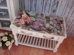 Dollhouse Miniature Victorian Shabby Chic by IttyBittyAndCute