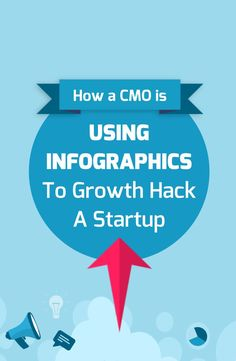 How a CMO is using infographics to growth hack a startup