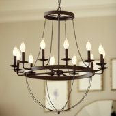 Perfect dining or living room chandelier by Ballard Designs for $299