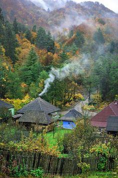 România Bucharest, Beautiful Places, Places To Visit, Landscape, Architecture, World, City, Travel, Cottages