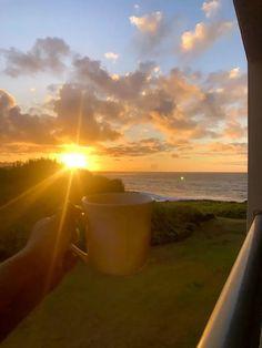 Coffee and Sunrise - Sunset in Kauai - Point at Poipu Room with a Ocean View - Pretty Collected Poipu Beach, Best Hawaiian Island, Hawaiian Islands, Coffee Life, Beaches In The World, Most Beautiful Beaches, Water Slides, Kauai