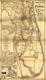 Florida Railroad Map