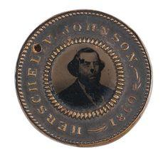 Douglas & Johnson 1860 Campaign Ferrotype