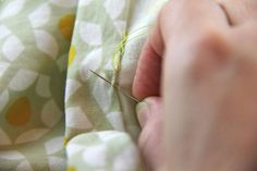 Slow Sewing: Why It's Worth It to Sew a Hem by Hand   With tutorials