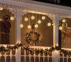 Decorative Porch Lighting....pinning for the day I have a front porch ;-)