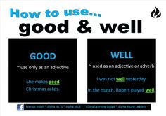 How to use... Good & Well