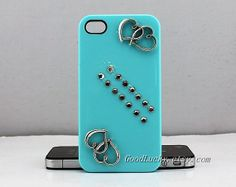 HeartSoulmate iphone casestudded iphone 4 casestudded by goodlucky, $13.99
