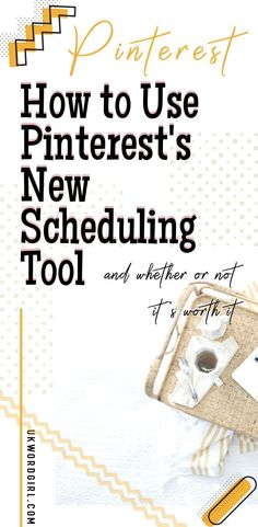 Want to start scheduling Pinterest posts without paying for Tailwind or other tools? Pinterest now has a new tool to offer you — Pinterest scheduling for FREE! I'm telling you all about it, how to use it, and why I'm not kicking my Tailwind subscription to the kerb just yet | ukwordgirl.com | #Pinterest #SchedulePinterest | Pinterest Scheduler | Pinterest Marketing Tips Pinterest For Business, New Pins, Pinterest Marketing, Social Media Marketing, Schedule, Told You So, Posts, News, Free