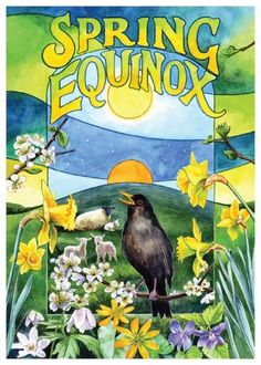 "Ostara -   Incense: Jasmine, Rose Decorations: Yellow Disk or Wheel, Coloured Egg's, Hare Decorations, Spring Flowers Colours: Yellow This marks the Spring Equinox. This is the Pagan ""Easter"" - or rather, this is the day that Christians borrowed to be their Easter. It is traditionally the day of equilibrium, neither harsh winter nor the merciless summer, and is a time of childish wonder. Painted eggs, baskets of flowers and the like are generally used to decorate the house."