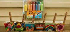 #BICMarkIt #Smiley360 received this project for free from smiley360. I love the variety of bic permanent markers in each pack!!!