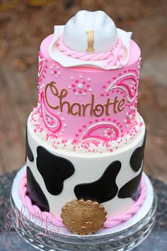 Birthday Cake Pic Awesome buttercream Cowgirl Birthday Cake by Honeylove Cakery Cowgirl Birthday Cakes, Rodeo Birthday Parties, Cowgirl Cakes, Farm Birthday, Birthday Party Themes, Cow Birthday Cake, Birthday Ideas, Birthday Banners, Birthday Invitations