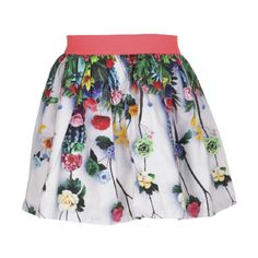 Molo Kids Bess White Skirt. Available at www.trendytotsboutique.co.uk