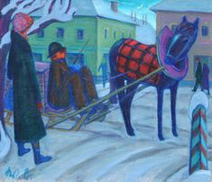 Vor der Heimfahrt Painting, Art, Woodblock Print, Watercolor, Drawing S, Pictures, Art Background, Painting Art, Kunst