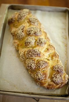 6 braid challah.  I make this bread all the time using thier recipe and it is delicious!  I also use the dough to make the BEST cinnamon rolls.