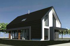 Nieuwbouw schuurwoning | Aalsmeer - Ontwerp van AL architecten voor een nieuw te bouwen schuurwoning aan de Machineweg in Aalsmeer.