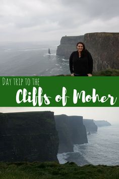 There is a reason the Cliffs of Moher are one of Ireland's most visited spots-- they are beautiful! Get all the info on how to take a day trip to the cliffs from Galway in this post!