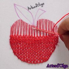 silk ribbon embroidery designs and techniques Hand Embroidery Patterns Free, Hand Embroidery Videos, Embroidery Stitches Tutorial, Embroidery Flowers Pattern, Embroidery Techniques, Embroidery Ideas, Knitting Stitches, Flower Patterns, Creative Embroidery