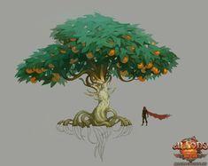 tree concept art - Google Search