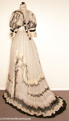 1904 gown, Time Travelers/Ebay