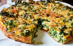 Kale Frittata | Another delicious breakfast recipe with vegetables ...