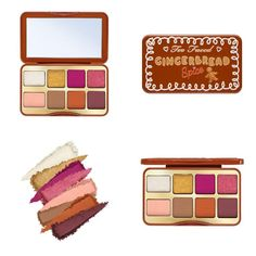 Makeup News, Eyeshadow Palette, Gingerbread, Caramel, Blush, Mini, Face, Holiday, Beauty