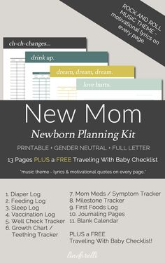 New Mom Newborn Plan