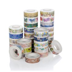 1 PCS  Color Building City Paper Washi Tape Adhesive Tape DIY Scrapbooking Sticker Label Masking Tape Office School Supplies #Affiliate