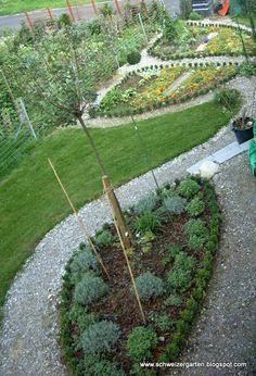 Vorher-Nachher-Bilder - Ein Schweizer Garten