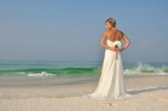 Modern Beach Wedding in Panama City Florida 850-737-0469